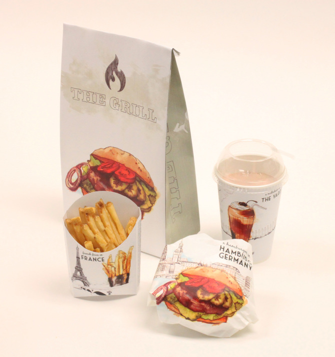 Fast Food Packaging Templates