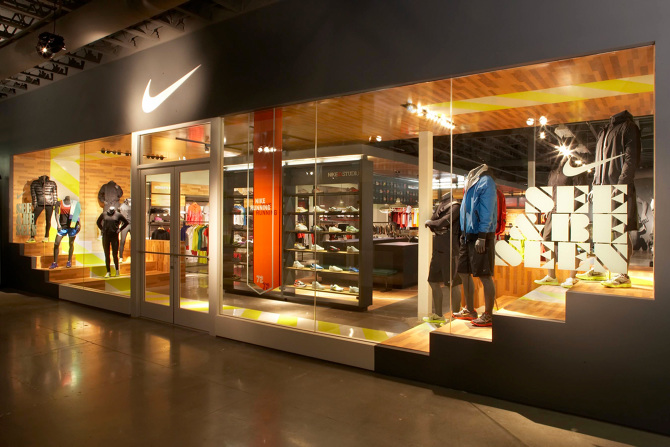 Nike Retail The Fieldhouse Concept